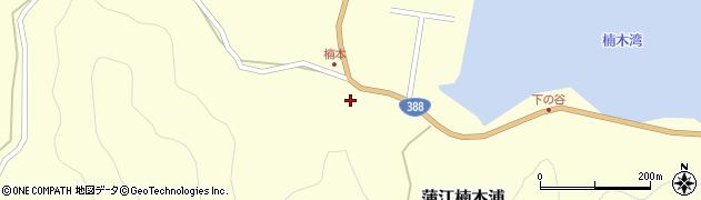大分県佐伯市蒲江大字楠本浦801周辺の地図