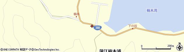 大分県佐伯市蒲江大字楠本浦823周辺の地図