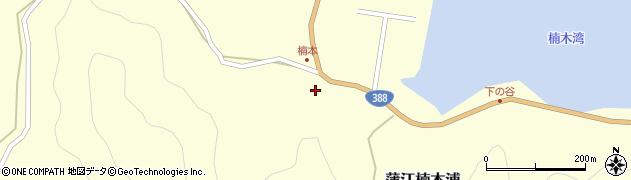 大分県佐伯市蒲江大字楠本浦810周辺の地図