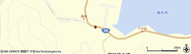 大分県佐伯市蒲江大字楠本浦816周辺の地図