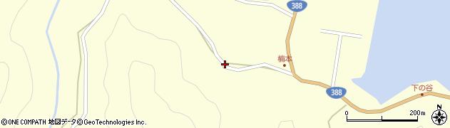 大分県佐伯市蒲江大字楠本浦647周辺の地図