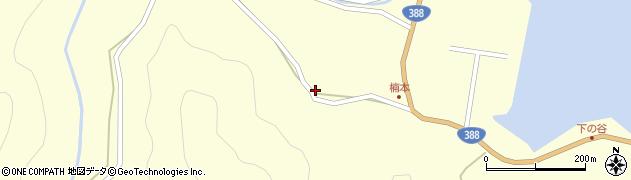 大分県佐伯市蒲江大字楠本浦646周辺の地図