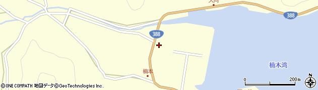 大分県佐伯市蒲江大字楠本浦665周辺の地図