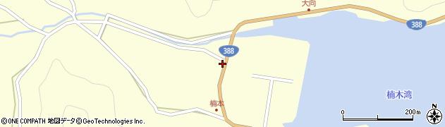 大分県佐伯市蒲江大字楠本浦675周辺の地図