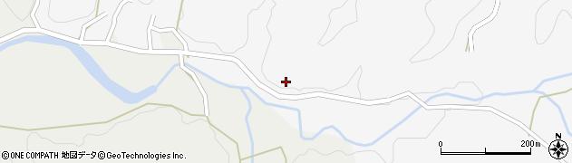 大分県佐伯市宇目大字大平496周辺の地図