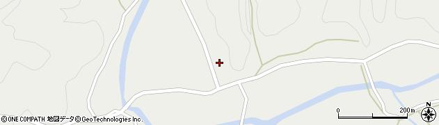 大分県佐伯市宇目大字重岡332周辺の地図