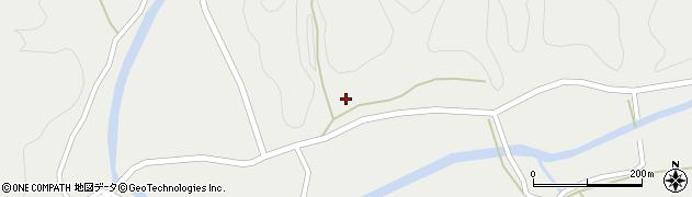 大分県佐伯市宇目大字重岡260周辺の地図