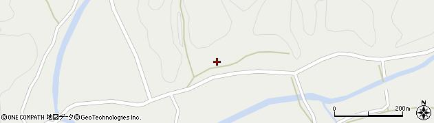 大分県佐伯市宇目大字重岡257周辺の地図
