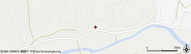 大分県佐伯市宇目大字重岡128周辺の地図