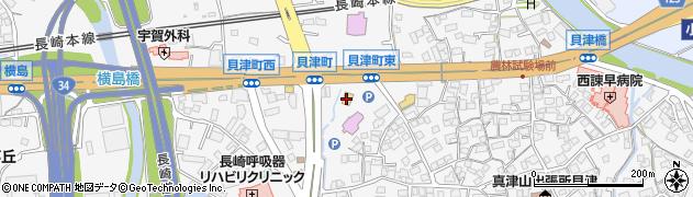 マクドナルド 諫早インター店周辺の地図