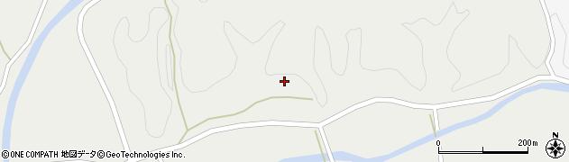 大分県佐伯市宇目大字重岡201周辺の地図