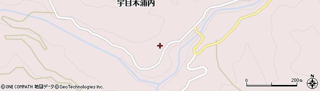 大分県佐伯市宇目大字木浦内355周辺の地図