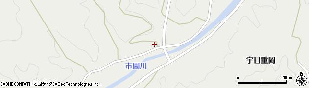 大分県佐伯市宇目大字重岡952周辺の地図