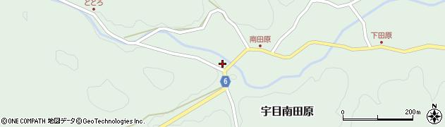 大分県佐伯市宇目大字南田原923周辺の地図