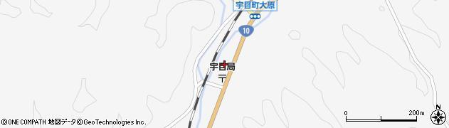 大分県佐伯市宇目大字大平2096周辺の地図