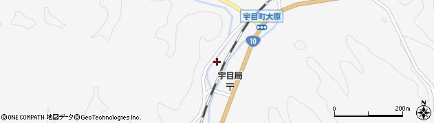 大分県佐伯市宇目大字大平2092周辺の地図