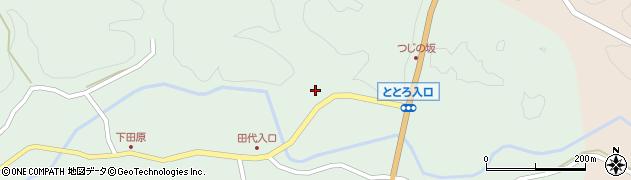 大分県佐伯市宇目大字南田原69周辺の地図
