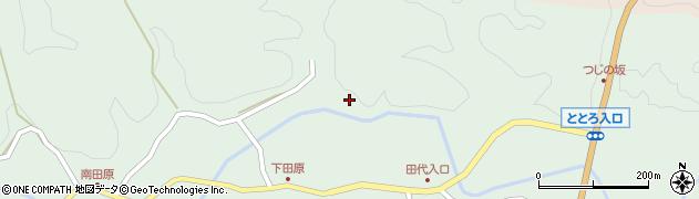 大分県佐伯市宇目大字南田原686周辺の地図