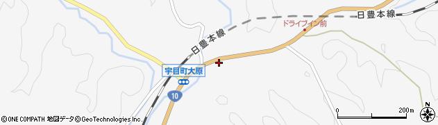 大分県佐伯市宇目大字大平1659周辺の地図