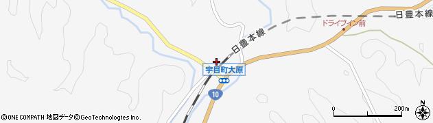 大分県佐伯市宇目大字大平1635周辺の地図