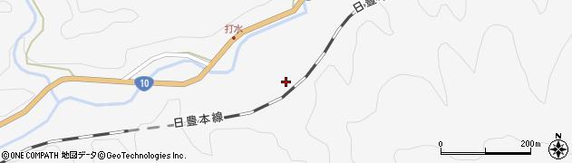 大分県佐伯市直川大字仁田原2741周辺の地図