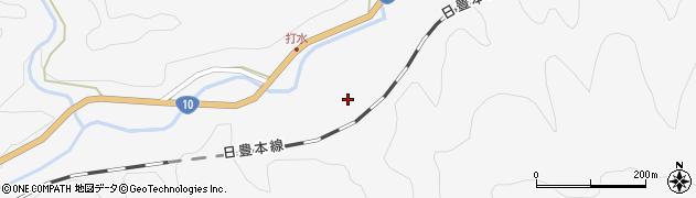 大分県佐伯市直川大字仁田原2742周辺の地図