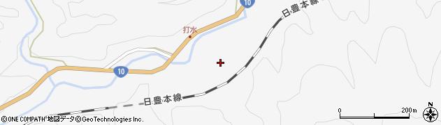 大分県佐伯市直川大字仁田原2719周辺の地図