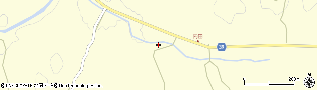 大分県佐伯市宇目大字塩見園959周辺の地図