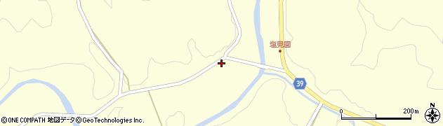 大分県佐伯市宇目大字塩見園1501周辺の地図
