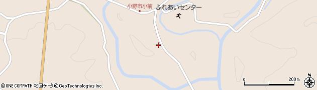 大分県佐伯市宇目大字小野市3970周辺の地図