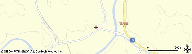 大分県佐伯市宇目大字塩見園1500周辺の地図