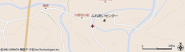 大分県佐伯市宇目大字小野市3798周辺の地図
