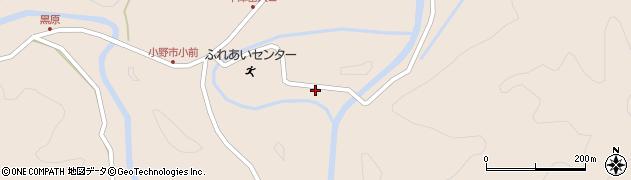 大分県佐伯市宇目大字小野市3374周辺の地図