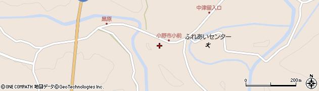 大分県佐伯市宇目大字小野市3750周辺の地図