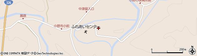 大分県佐伯市宇目大字小野市3739周辺の地図
