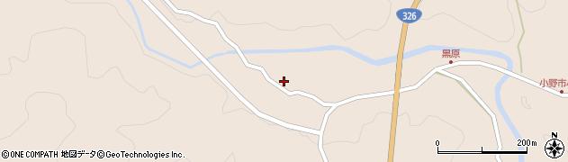 大分県佐伯市宇目大字小野市5400周辺の地図