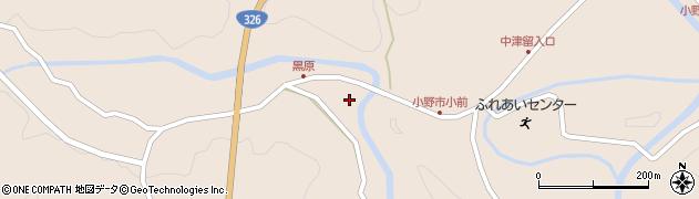 大分県佐伯市宇目大字小野市5267周辺の地図