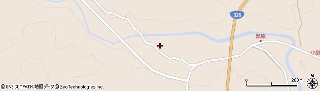 大分県佐伯市宇目大字小野市5399周辺の地図