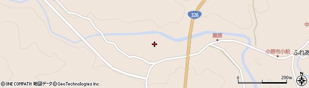大分県佐伯市宇目大字小野市5405周辺の地図
