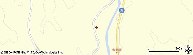 大分県佐伯市宇目大字塩見園1591周辺の地図