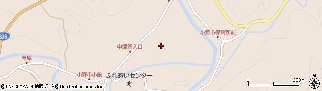大分県佐伯市宇目大字小野市3423周辺の地図