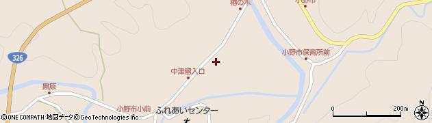 大分県佐伯市宇目大字小野市3424周辺の地図