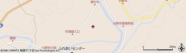 大分県佐伯市宇目大字小野市3421周辺の地図
