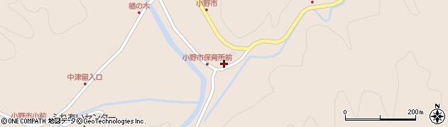 大分県佐伯市宇目大字小野市2962周辺の地図