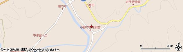 大分県佐伯市宇目大字小野市2966周辺の地図