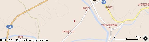 大分県佐伯市宇目大字小野市3509周辺の地図