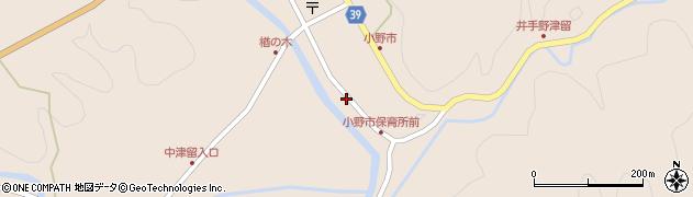 大分県佐伯市宇目大字小野市2945周辺の地図