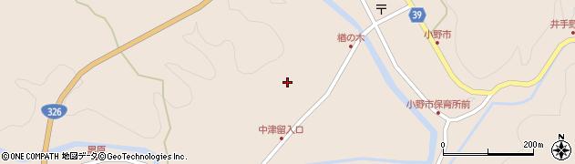大分県佐伯市宇目大字小野市3506周辺の地図