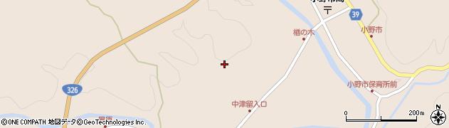 大分県佐伯市宇目大字小野市3532周辺の地図
