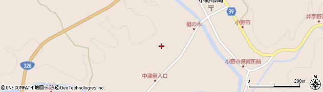 大分県佐伯市宇目大字小野市3507周辺の地図